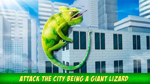 Angry Giant Lizard - City Attack Simulator 1.0.0 screenshots 1