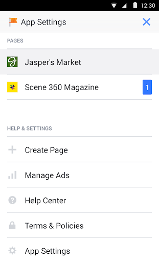 Facebook Pages Manager screenshot 6