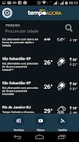 Screenshot of Tempo Agora - 10 days forecast