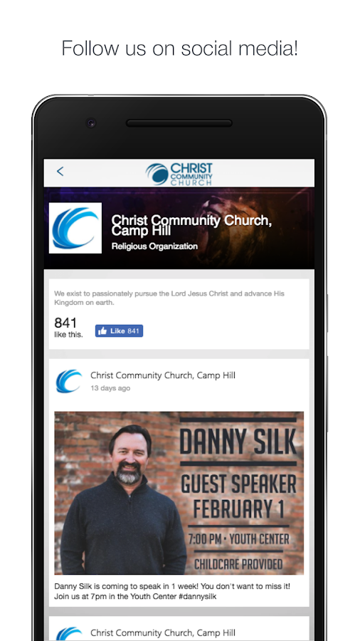 christcc.org- screenshot