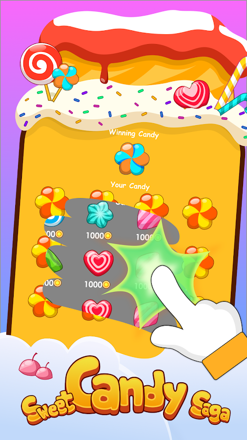 Candy Scratch - Win Prizes.Earn & Redeem Rewards- screenshot