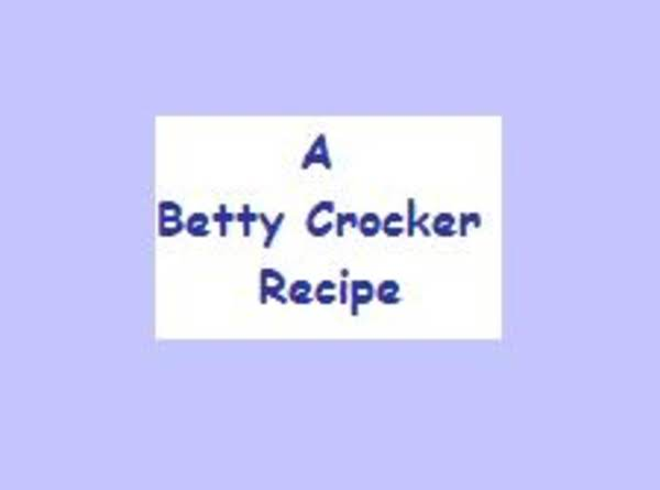 Vintage Recipe From A Betty Crocker Pamphlet