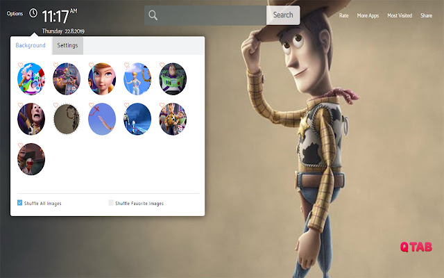 Toy Story 4 Wallpapers New Tab Theme