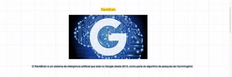 RankBrain algoritmo do google