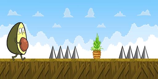 Télécharger Gratuit Hero Avocado Adventure apk mod screenshots 1