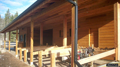 Photo: The stables at Moose Mountain Ranch near Bragg Creek