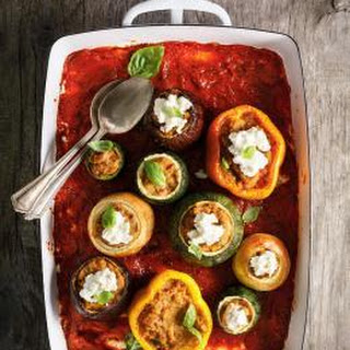 Parmesan-Stuffed Vegetables