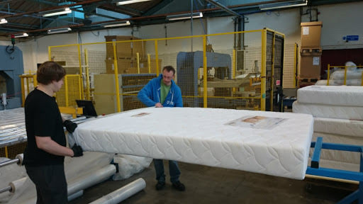 Relyon Vacuum Packed Mattresses wrapping