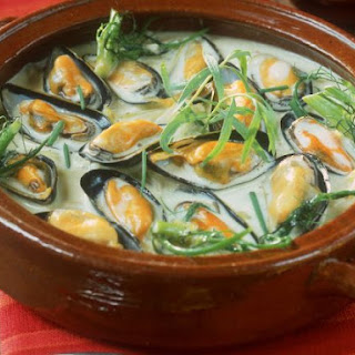 Shellfish and Herb Soup