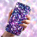 Glitter Live Wallpaper Glitzy icon
