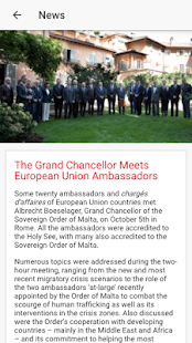 Order of Malta American Assoc- screenshot thumbnail