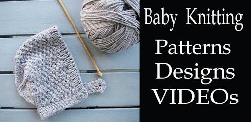 Baby Knitting Patterns Designs App Tutorial Videos Apps On Google Play