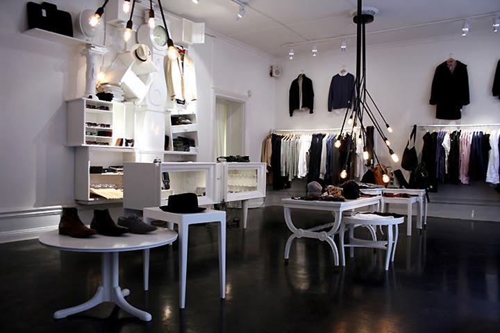 thiết kế shop thời trang nam - thiết kế cửa hàng thời trang nam - thiết kế shop quần áo nam 1