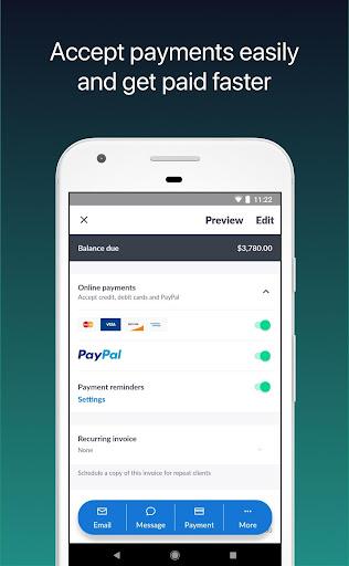Invoice 2go u2014 Professional Invoices and Estimates 10.74.1 gameplay | AndroidFC 2