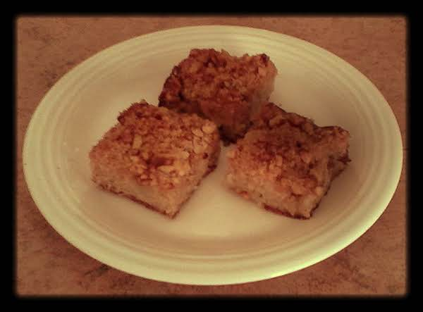 Apple Spice Squares Recipe