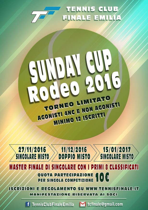 Master Sunday Cup 2016-2017
