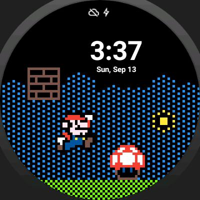 Pixelface Watch Face