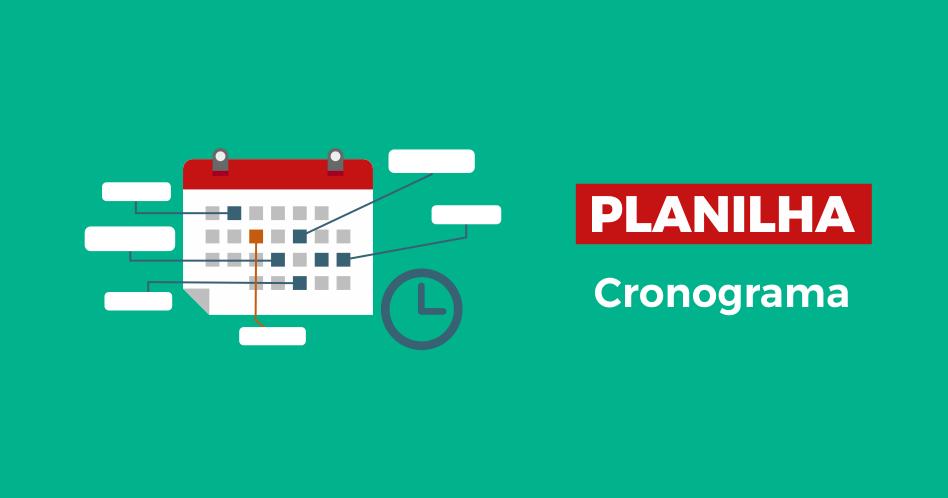 Planilha de Cronograma
