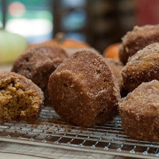 Pumpkin Muffin Poppers