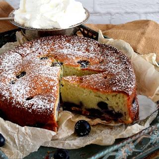 Blueberry Yogurt Cake.
