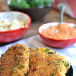 "Easy Chicken ""Crab"" Cakes"