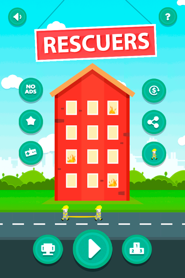 Rescuers- screenshot