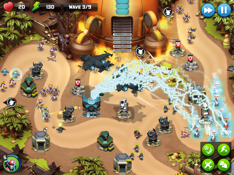 Alien Creeps TD - Epic tower defense Screenshot 5