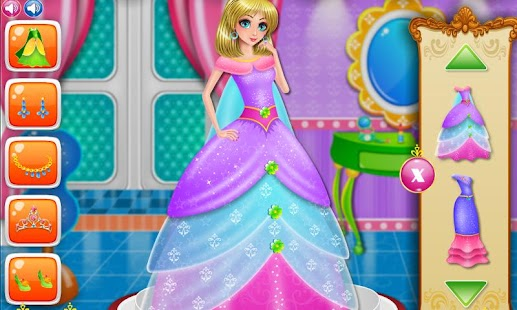 Princess Care and DressUp- screenshot thumbnail
