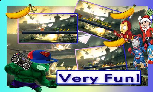 Heroe Adventure Hulk running