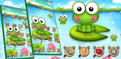 Nutty Bullfrog Theme Aplikasi Di Google Play