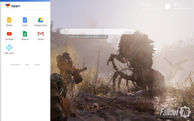 Fallout 76 Wallpapers & New Tab Themes