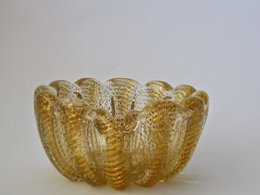 Photo: Barovier and Toso cordanato oro bowl