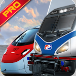 Euro Train Simulator 3D 2017 Icon