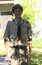 Photo: (Year 3) Day 20 - Edward Back from Scout Camp