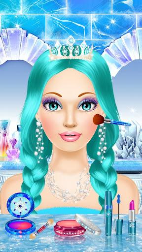 Ice Queen Makeover - Girls Makeup & Dress Up Game FREE.1.3 screenshots 8