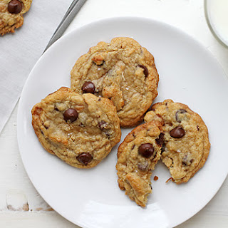 Caramel-Coconut Chocolate Chip Cookies.