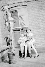 Photo: Helene, Harry, and Mildred Tulman