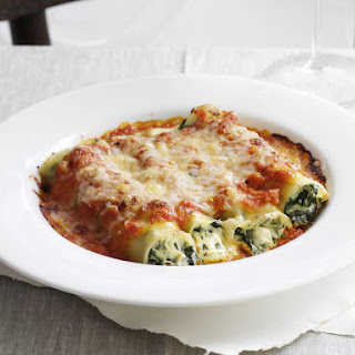 Spinach and Ricotta Cannelloni.