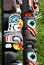 Photo: (Year 2) Day 324 - Totem Poles in Stanley Park