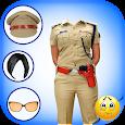 Women Police Dress maker Selfie Camera Snap Photo icon