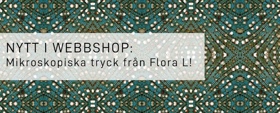 Ny kollektion mikroskopiska tyger från Flora L!
