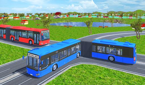 Offroad Metro Bus Game: Bus Simulator 1.3 screenshots 2