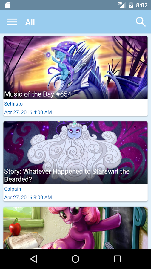 Equestria Daily - Pony News- screenshot