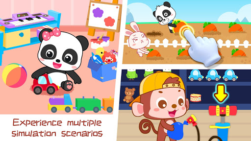 Screenshot for Baby Panda's Family and Friends in United States Play Store