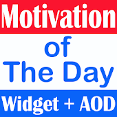 Motivation of the Day Widget