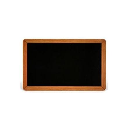 Plastkort PVC, Blankt svart med förtryckt ram