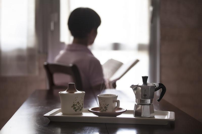 un buon libro e un buon caffè di angart71