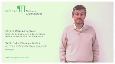 Photo: Antonio Descalzo González - Fomento de industrias culturales y ayudas de Estado