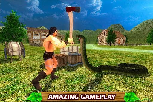 Code Triche Simulateur de serpent furieux APK MOD screenshots 4