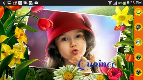 flower photo frames screenshot thumbnail